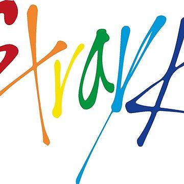 Stray Kids - Rainbow. by Duckiechan