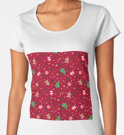 Christmas Holidays - Red Women's Premium T-Shirt