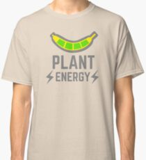 plant energy with banana as battery Classic T-Shirt
