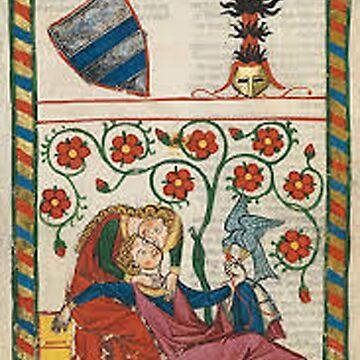 Vintage Medieval English Arthurian art by Geekimpact