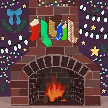 Fireplace by VibrantVibe