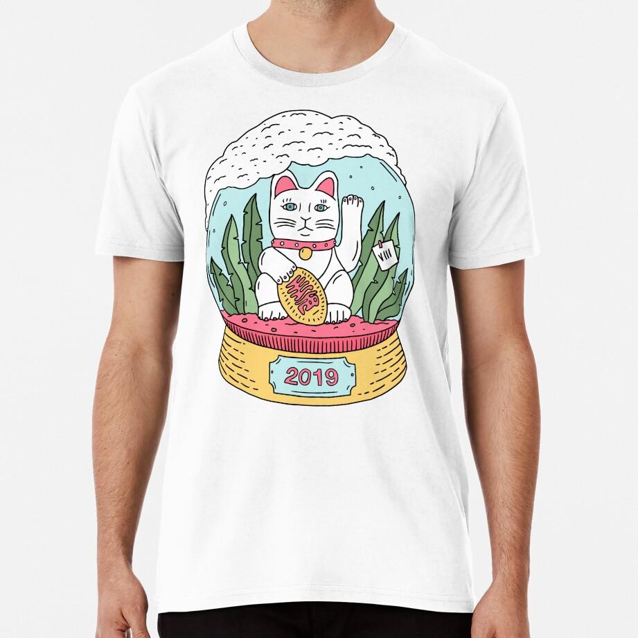 MANEKI SNOW GLOBE Premium T-Shirt