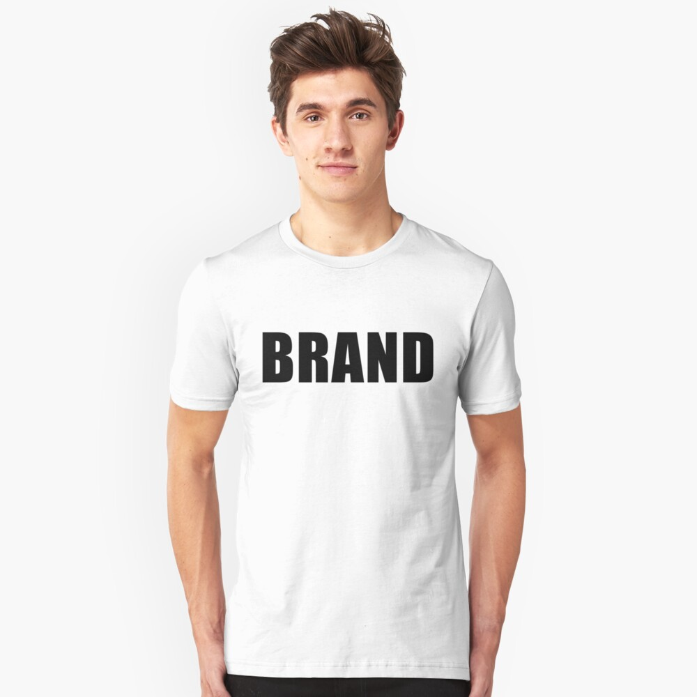 BRAND NAME  - [Roufxis-RB] Unisex T-Shirt Front