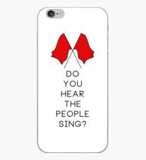 Do you hear the people sing? - WHITE iPhone Case