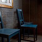 Three Blue Chairs by thomasjack