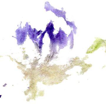 purple flower by lisenok