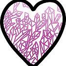 «corazon de cristal» de Jennie Clayton