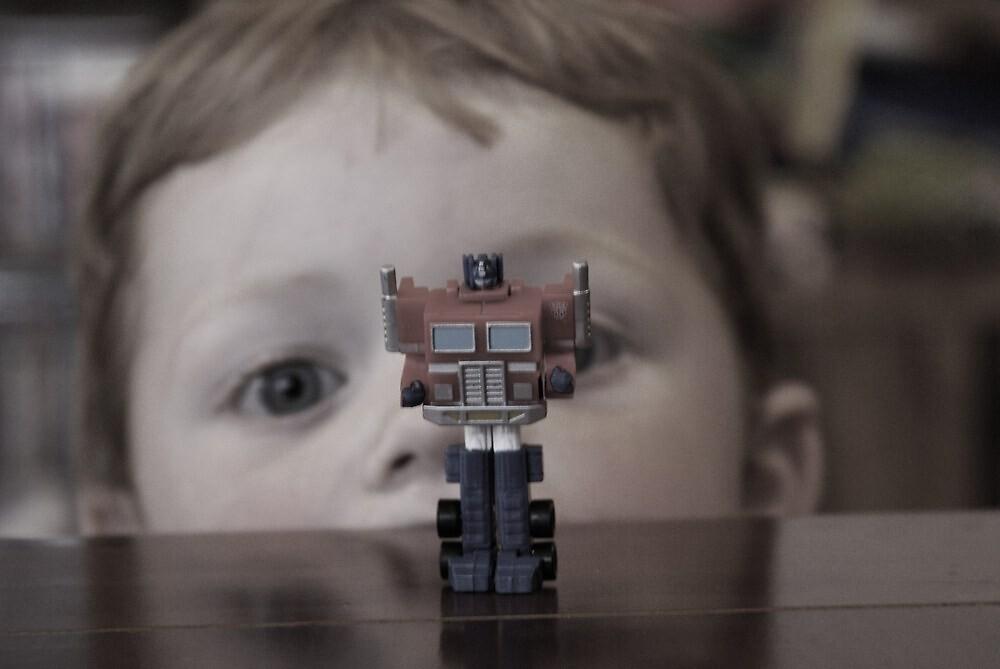 Watching Optimus by Adam Jones