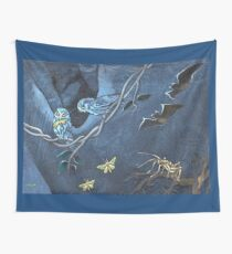 Bats, Moreporks and Weta Wall Tapestry