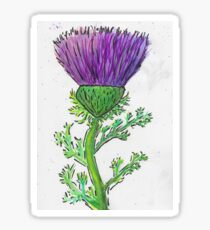 That's another thistle Sticker
