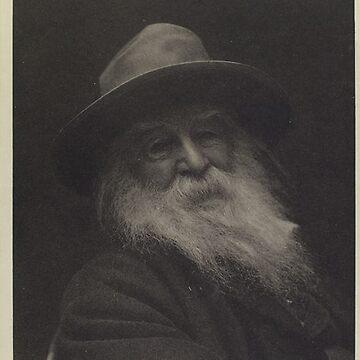 Vintage Walt Whitman Photo portrait by Geekimpact