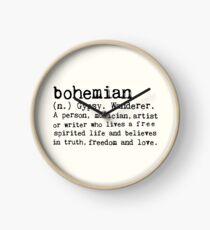 Bohemien Uhr