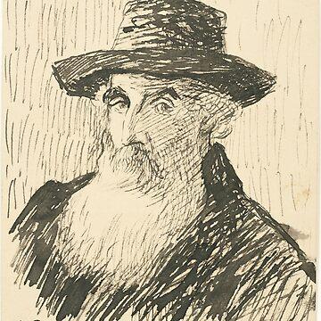 Pissarro Self portrait by Geekimpact