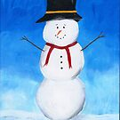 Mr. Snowman by EricaRobbin