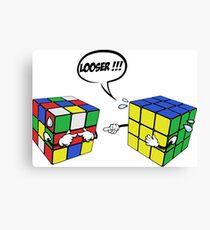 rubik's magic cube Canvas Print