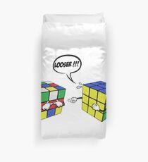 rubik's magic cube Duvet Cover