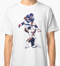 Saquon Barkley Hurdle Cartoon Classic T-Shirt
