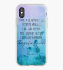 I will honor his life iPhone Case