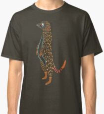 Abstract Meerkat Classic T-Shirt