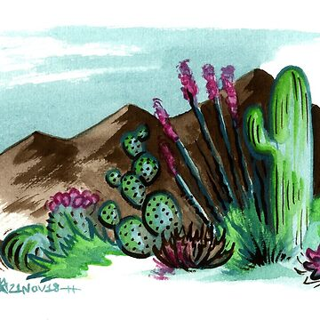 Small Sonora by jojoseames