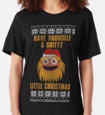 Have Yourself A Gritty Little Christmas Slim Fit T-Shirt