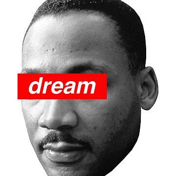 Dream Martin Luther King by qqqueiru