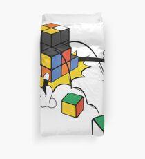 magic cube fall Duvet Cover