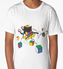 magic cube fall Long T-Shirt