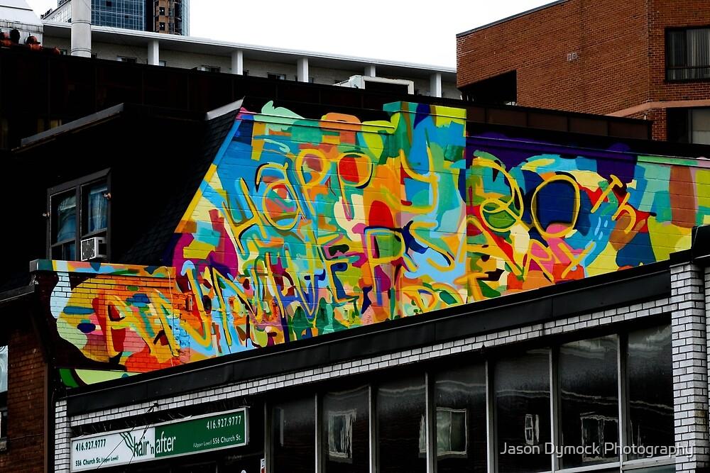Church Street Graffiti by Jason Dymock Photography