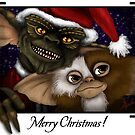 Have a Gremlin Kinda Christmas by Art-by-Aelia