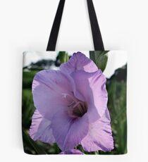 Translucent gladiolus Tote Bag