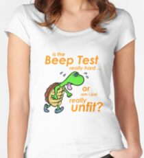Is it Hard or Am I Unfit? Women's Fitted Scoop T-Shirt