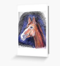 "A Pencil Interpretation of Mattison's ""looking outside"" Greeting Card"