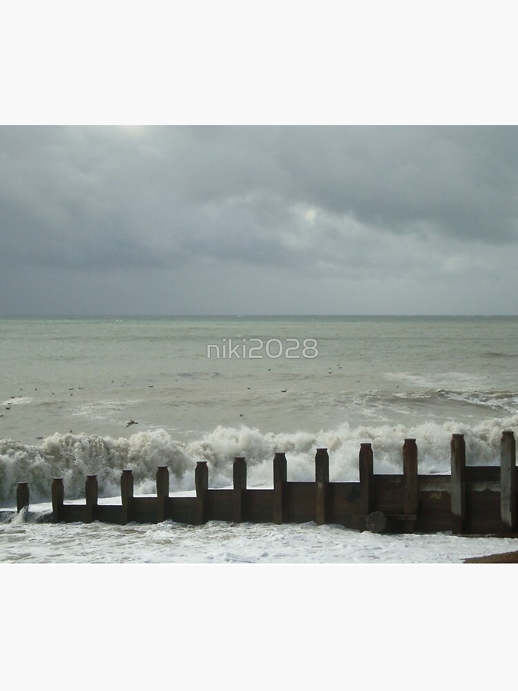 Stormy Weather at Eastbourne - East Sussex - UK by niki2028