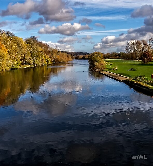Reflections At Pangbourne Meadows by IanWL