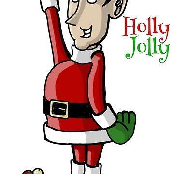 Holly Jolly the Christmas Elf by ChuckHalloran