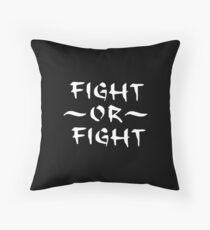 Kampf oder Kampf Bodenkissen