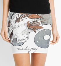 MorbidiTea - Earl Grey with Ram Skull Mini Skirt