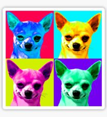 Chihuahua Pop Art Sticker
