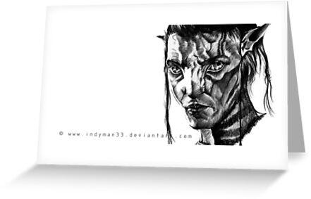 Jake Sully, Avatar. by WhereIsIsaac (Indy Sidhu)