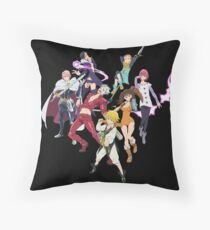 The Seven Deadly Sins Throw Pillow