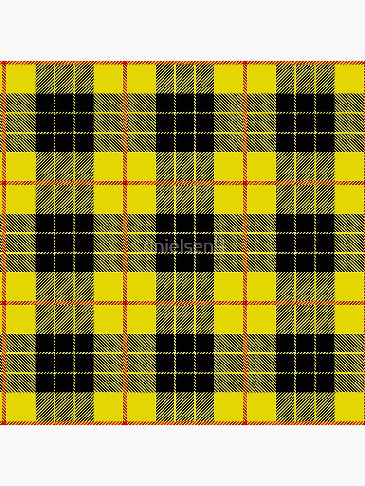 Black and yellow plaid by rlnielsen4