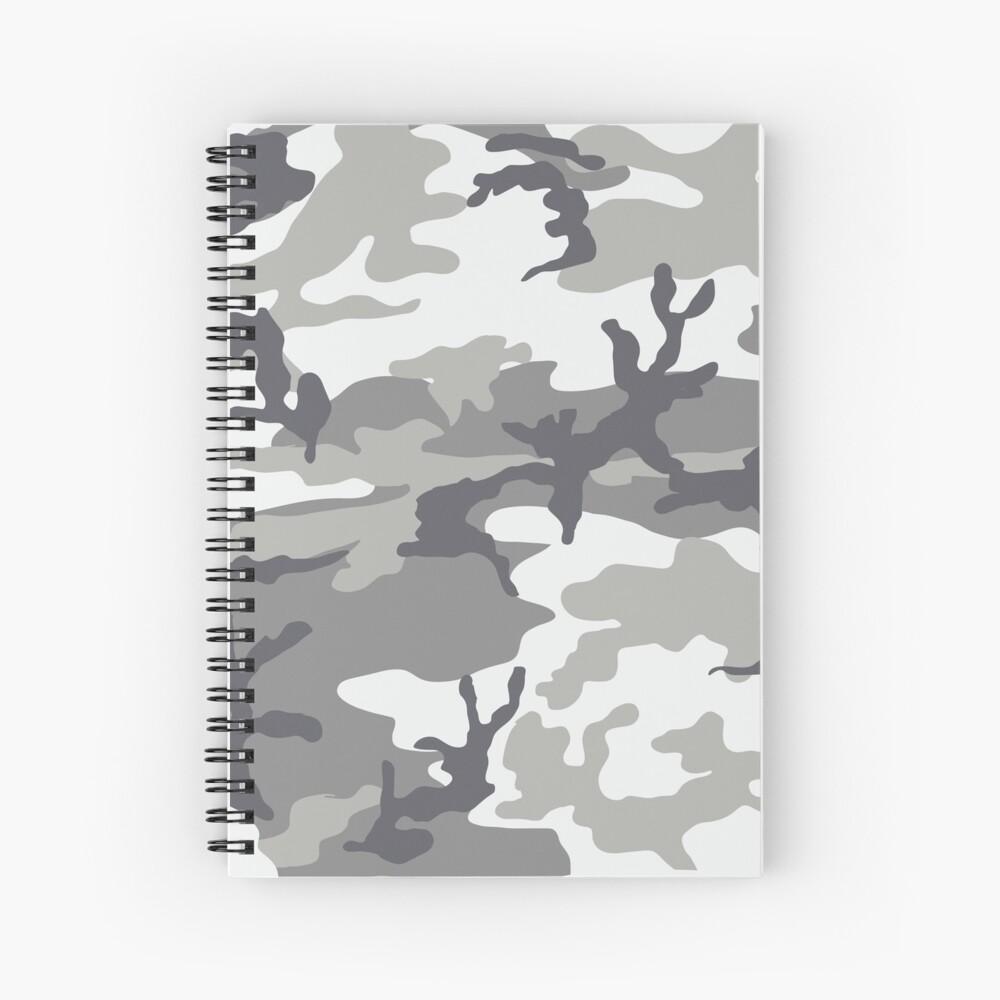 Metro Camo Spiral Notebook
