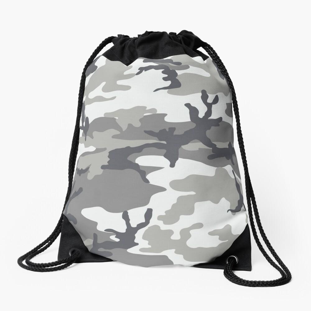 Metro Camo Drawstring Bag