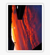january 5 2011  sunrise Sticker