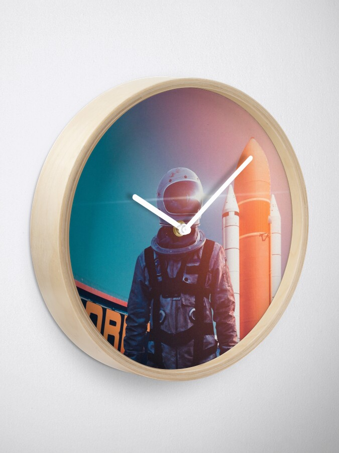 Alternate view of Going Home Clock