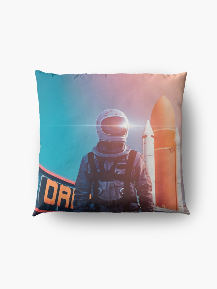 Alternate view of Going Home Floor Pillow