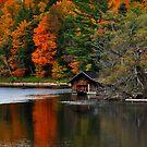Boathouse, Huntsville by Nancy Barrett