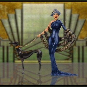 Art Deco Fashion by rgerhard