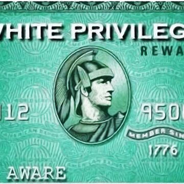 White privilege card by michaelroman